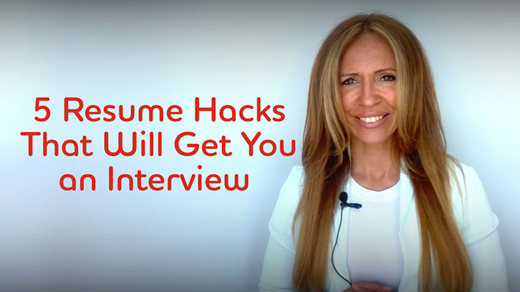 TAG expert talk: 5 Resume Hacks That Will Get You an Interview