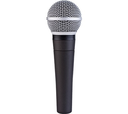 microphone white arrows